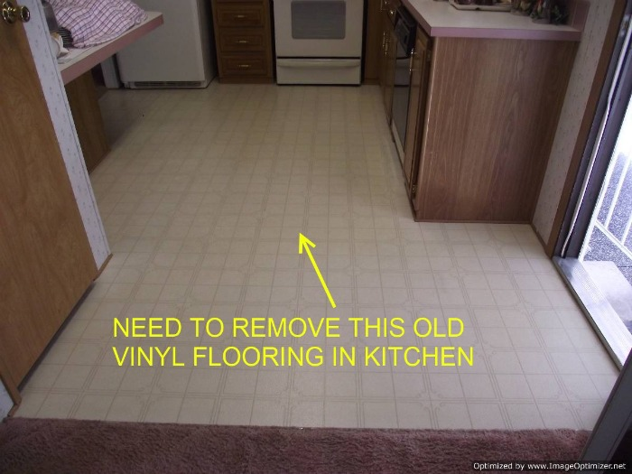 How To Remove Old Vinyl Flooring From Wood
