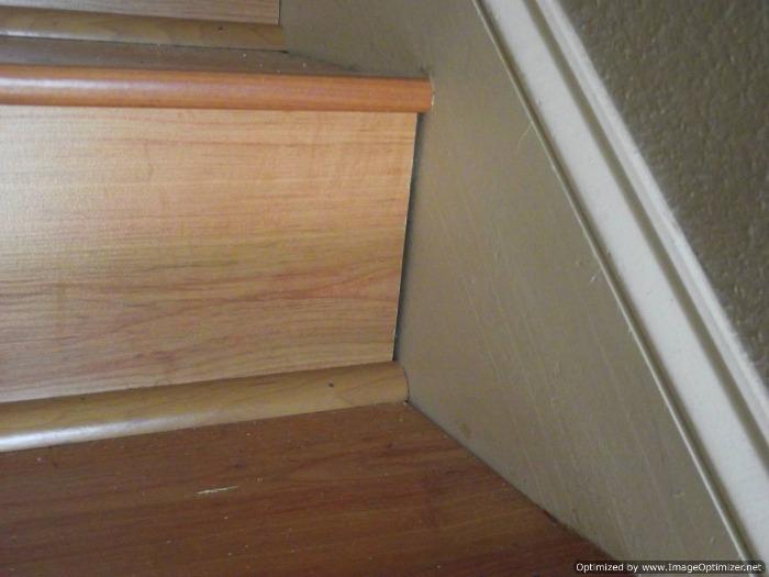 Quarter Round Trim On Stairs