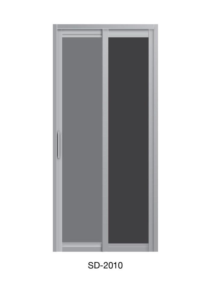 PVC Slide / Swing Toilet Door SD-2010