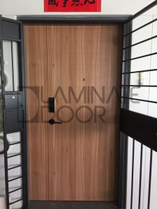 HDB Fire Rated Main Laminate Door Affordable price
