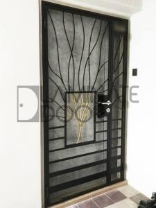 hdb metal gate wrought iron gate