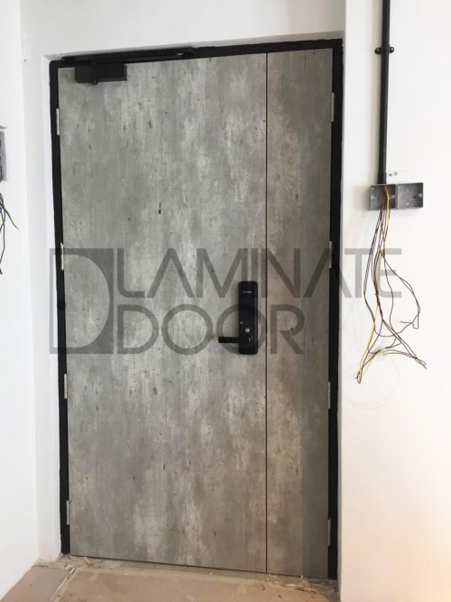 hdb main door singapore double leaf