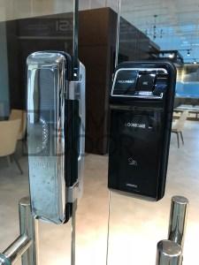 Loghome Fingerprint Glass Digital Door Lock LH600FGC