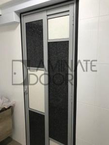Modern Slide and Swing Toilet Door