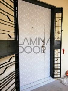 Abstraction Designer Laminate Main HDB Door