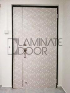 Laminate Main Door Abstraction Design