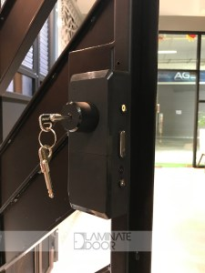 kaiser-digital-lock-metal-gate-key