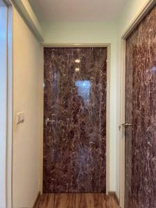 Full Solid Wood Core- Laminate Bedroom Doors