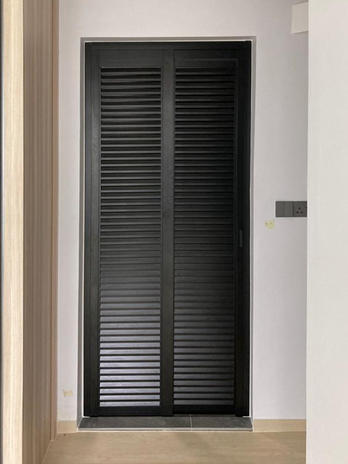 Aluminium Louver Design Door