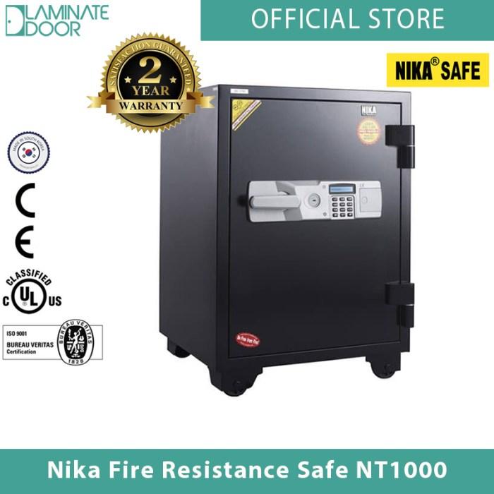 Nika Fire Resistance Safe NT1000 1