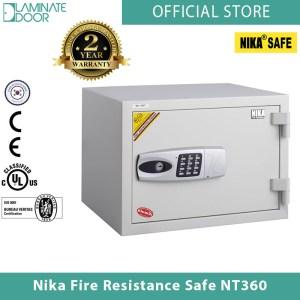 Nika Fire Resistance Safe NT360 white 1