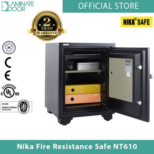 Nika Fire Resistance Safe NT610 black 2