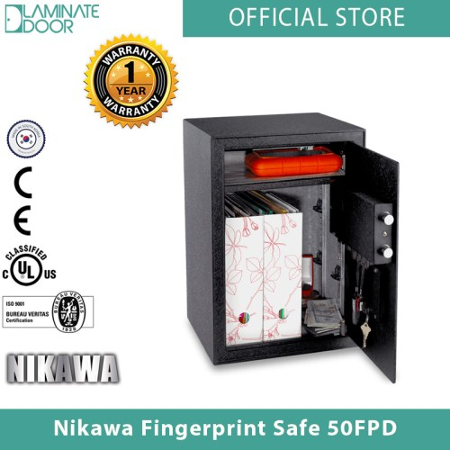 Nikawa Fingerprint Safe 50FPD 2