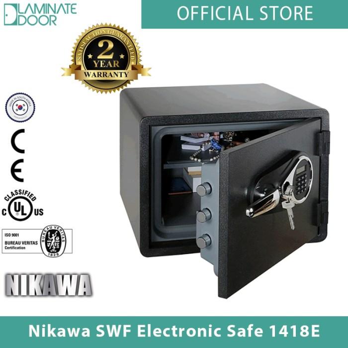 Nikawa SWF Electronic Safe 1418E 2