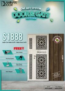 Anti Bacterial Door