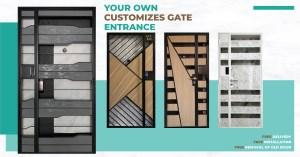 Laminate Gate