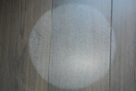 Stain on laminate