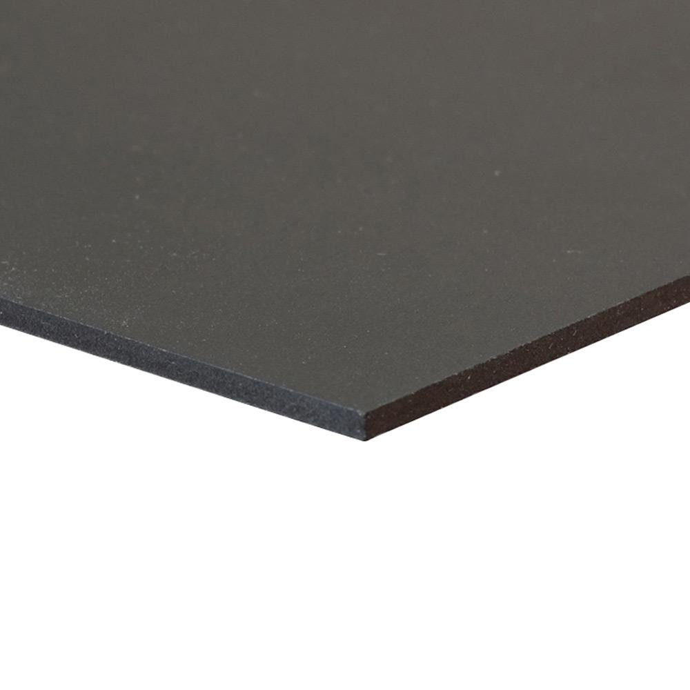 Black Sintra Board 3mm Thick No Adhesive