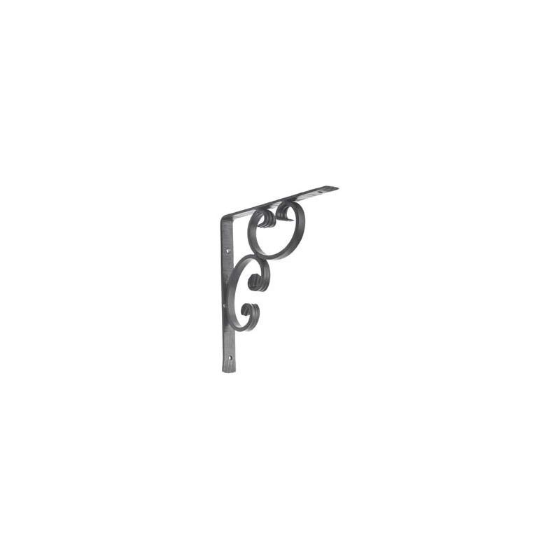 element decoratif support d etagere fer forge ref 886 2 au detail