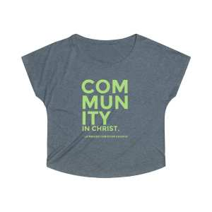 Community in Christ Women's Tri-Blend Dolman