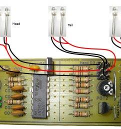 split version pcb board layout  [ 1366 x 768 Pixel ]