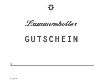 Lammerskötter Gutschein