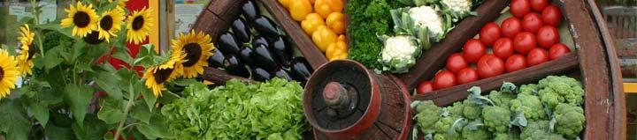 Hoffest-Gemüse