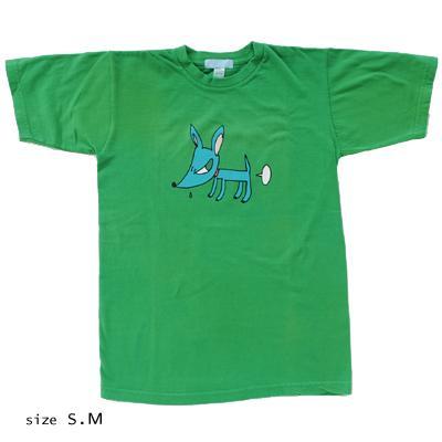 奈良美智 Tシャツ [DOGGY(グリーン)]