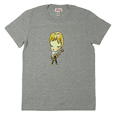 奈良美智 Tシャツ [BOY WITH GUITAR(グレー)]