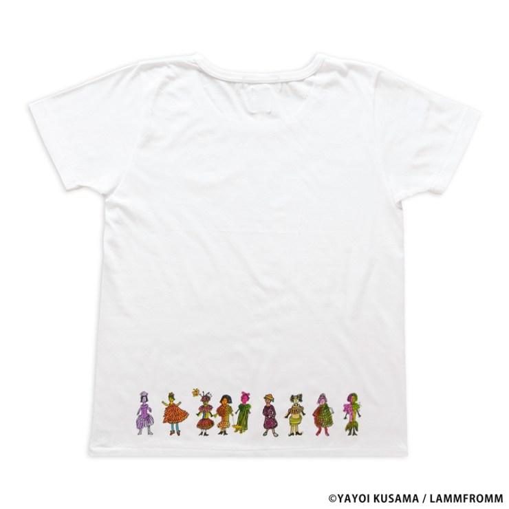 草間彌生 Tシャツ [ハーイ、コンニチワ! Ver.2]