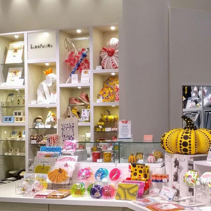 夏休みは銀座で草間彌生グッズをゲットしよう!From ラムフロム HINKA RINKA 銀座店
