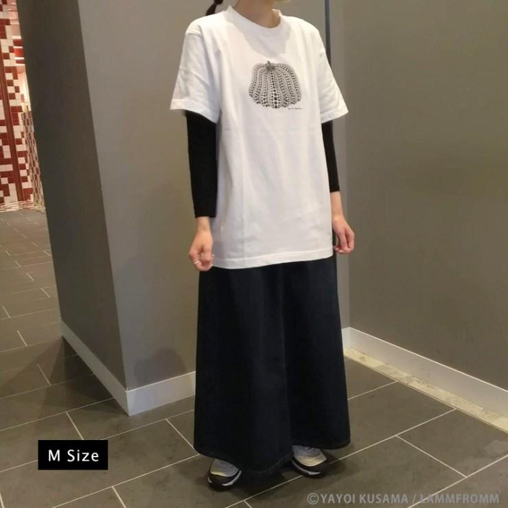 草間彌生 Tシャツ [かぼちゃ]