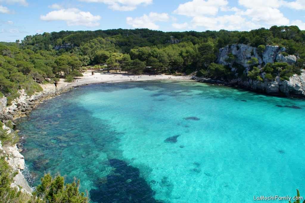 Cala Macarella la playa más famosa de Menorca