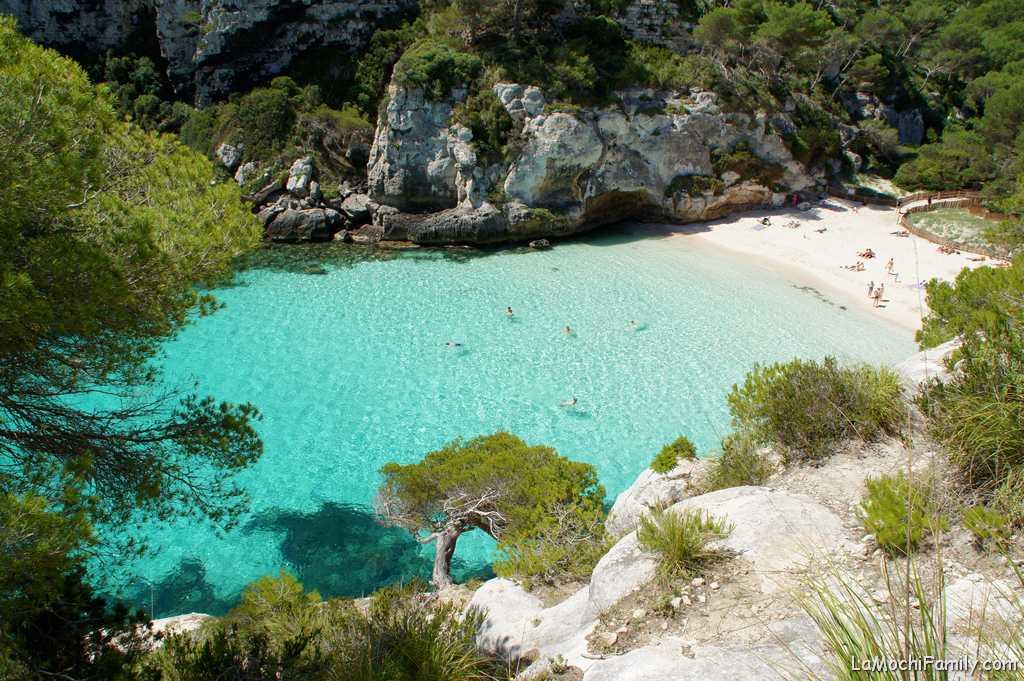 Mejores calas en Menorca 2020