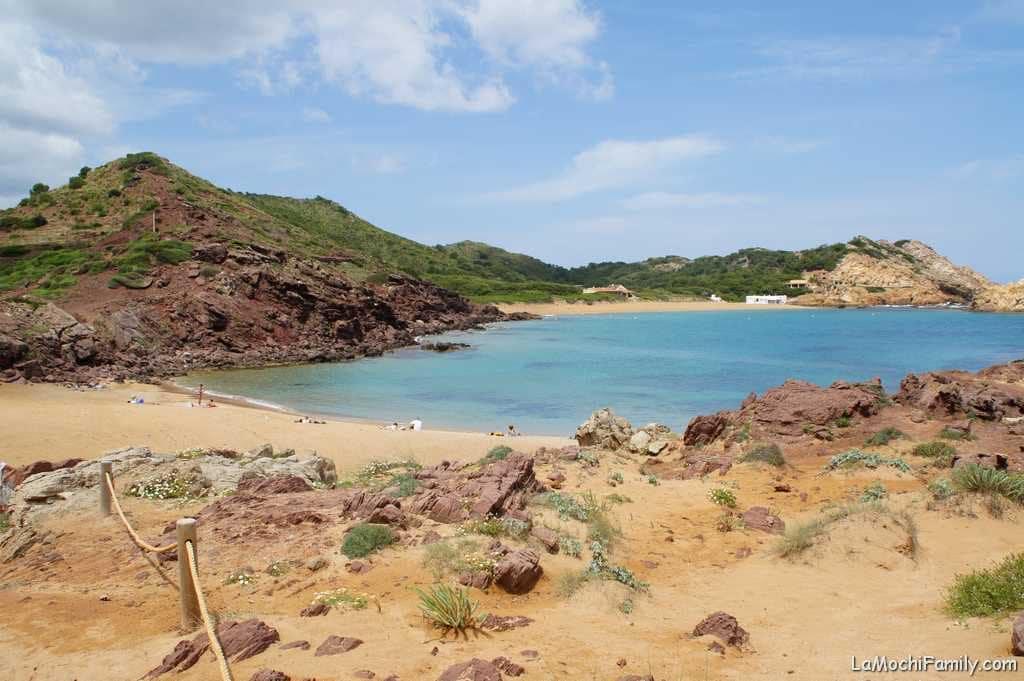 Cala Pregonda, cala más bonita del norte de Menorca