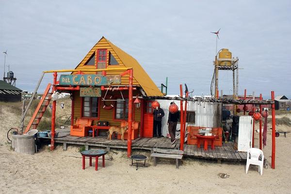 Hostal del Cabo en Cabo polonio, uno de los lugares imprescindibles de Uruguay