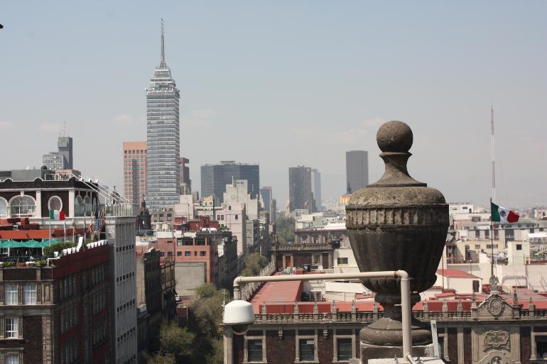 ciudad de méxico desde la catedral