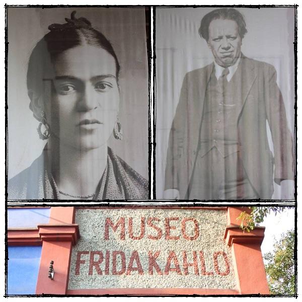 asa Azul museo de Frida Kahlo en Coyoacán