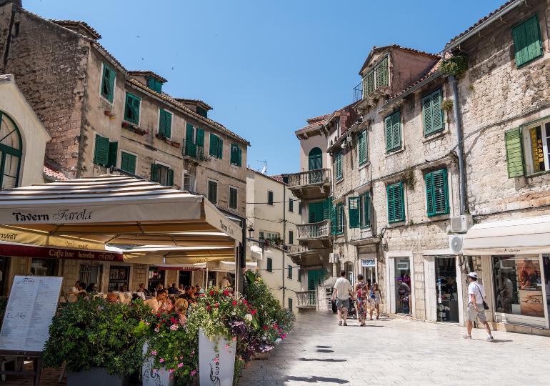 calles del palacio diocleciano de split
