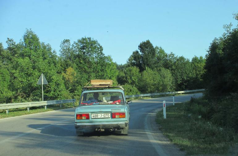 carretera de bosnia