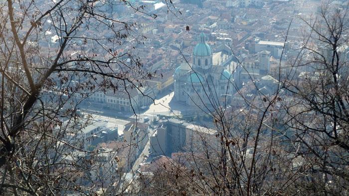 Vistas de como desde el funicular