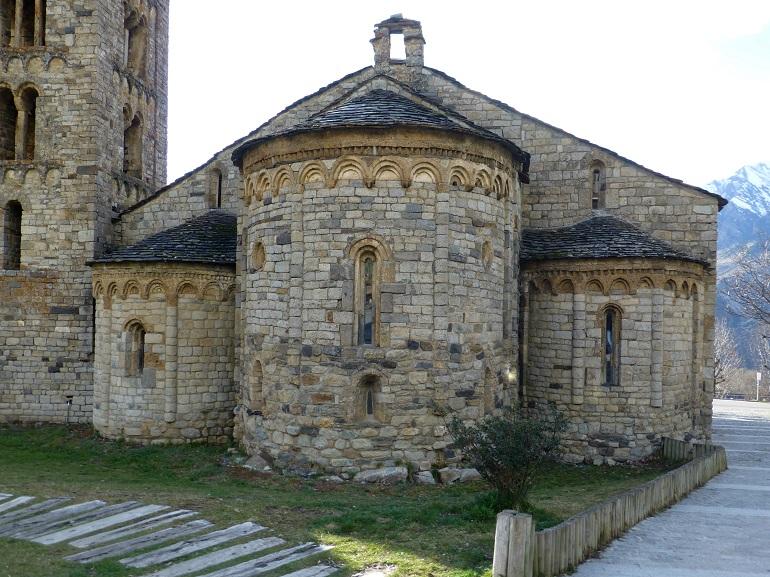 Lateral de Sant Climent de Taüll