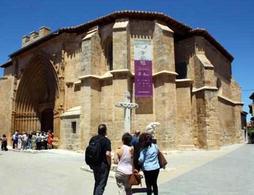 iglesia de santo domingo de aranda de duero