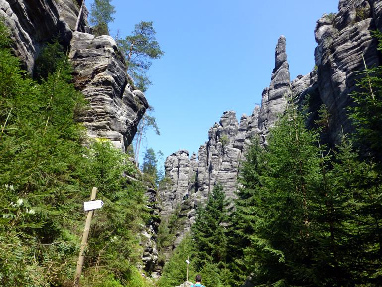 ciudad roca de teplice republica checa