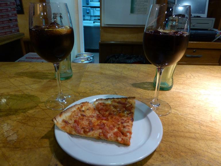 Pizza de La Competencia