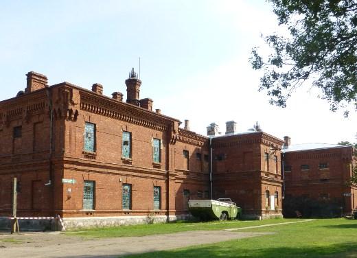 exterior de la prisión de karosta
