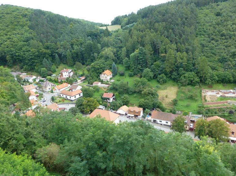 vistas-desde-el-castillo-Karlstejn