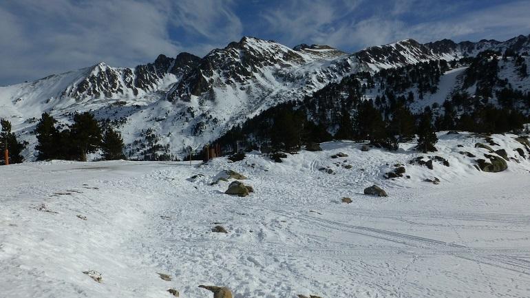 Vistas de la estación de esquí