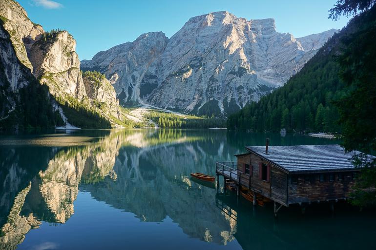 Lago di Braies, la joya de los lagos dolomíticos