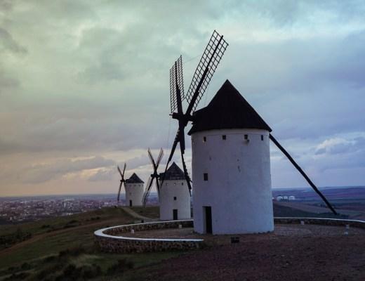 Molinos de viento de Alcázar de San Juan